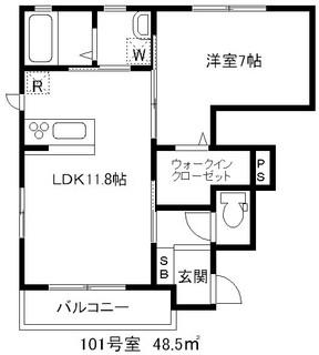 レフィナード壱番館 101.JPG