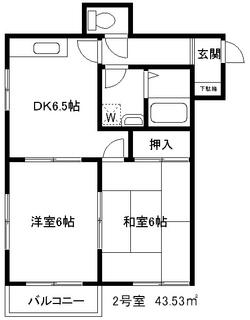 パークストニア 2号室.JPG
